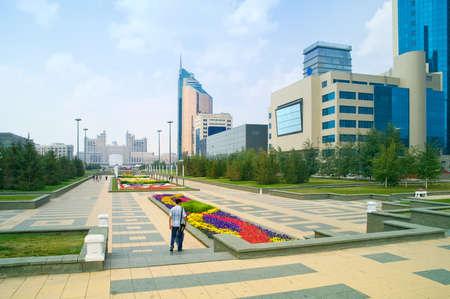 municipal: Astana. Municipal landscape Stock Photo