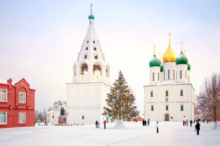 Kremlin is in Kolomna photo