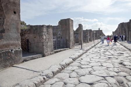pompeii: Pompeii  Street