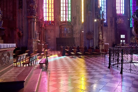 saint stephen cathedral: In the cathedral of Saint Stephen