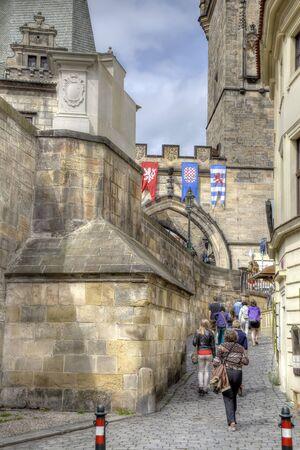passerby: Medieval street