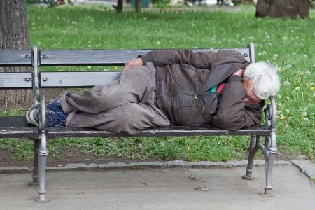 homelessness: Tramp