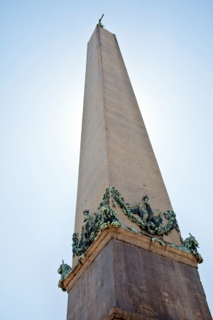 the obelisk: Egyptian obelisk