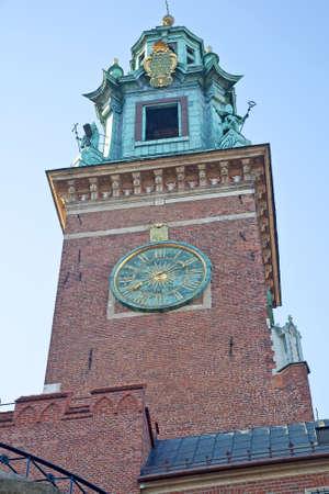 wawel: Chimes Wawel Castle  Editorial