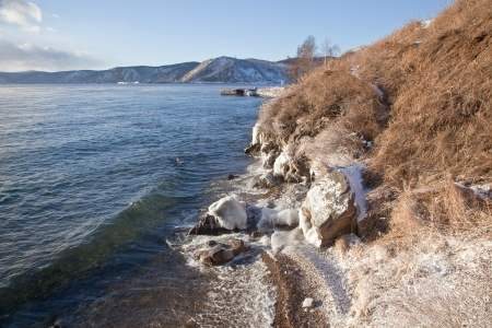 Lake is Baikal Stock Photo - 16682131