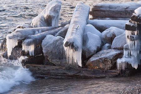 Coast lake Baikal Stock Photo - 16681901