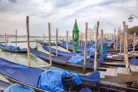 Venice, city landscape. Morning photo