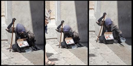 triptych: Triptych Poverty