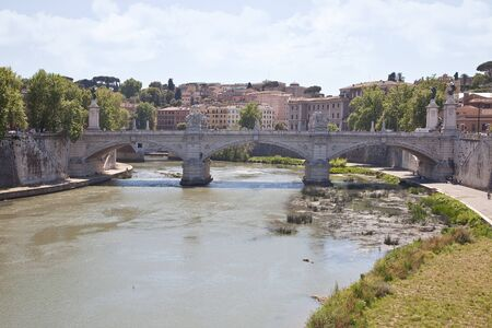 emmanuel: River Tiber and bridge of Victor Emmanuel II