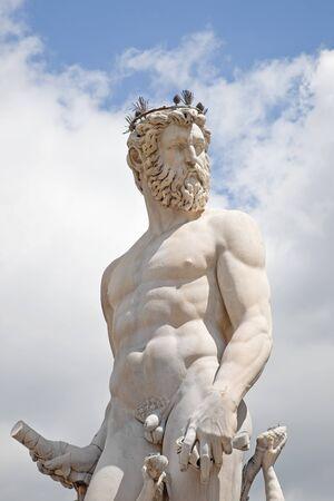 Fountain Neptune, fragment Stock Photo - 17340456