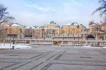 Moscow. Alexander Garden Stock Photo - 17162249