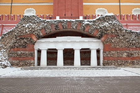 Moscow. Kremlin. Alexander Garden. Grotto photo