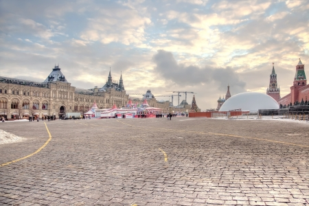 Red Square Stock Photo - 17511099