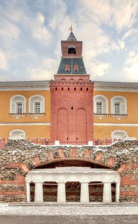 Moscow. Kremlin. Alexander Garden. Grotto Stock Photo - 17511571