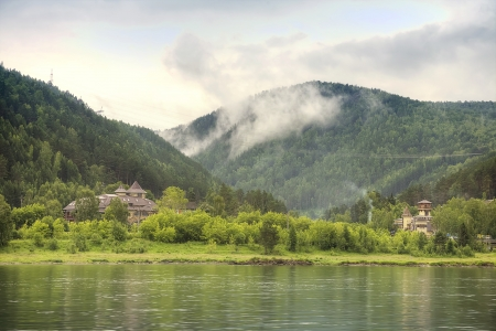 Coast of Yenisei photo