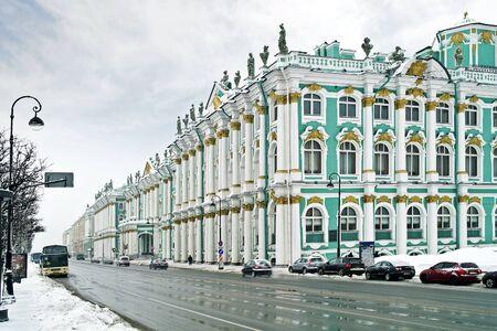 Winter palace Stock Photo - 17678728