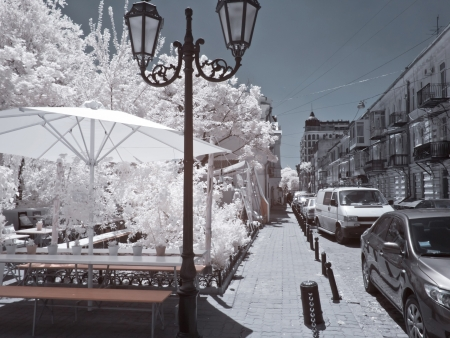 Odessa, the urban landscape 版權商用圖片 - 18015186