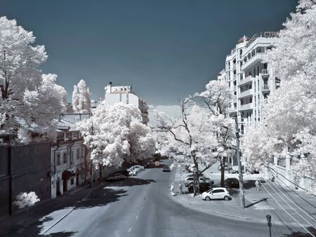 Odessa, the urban landscape 版權商用圖片 - 18017482