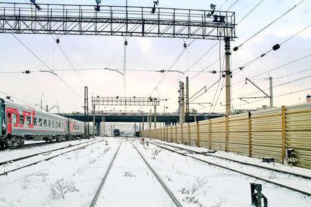 Railway rolling park Stock Photo - 18171528