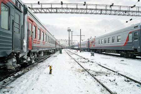 Railway rolling park Stock Photo - 18174023