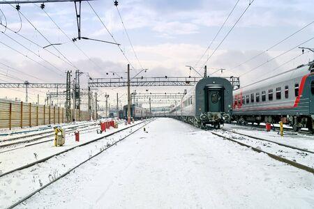 Railway rolling park Stock Photo - 18171526