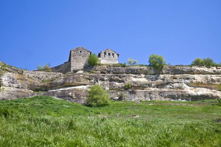 impregnable: Chufut-Kale, spelaean city - fortress