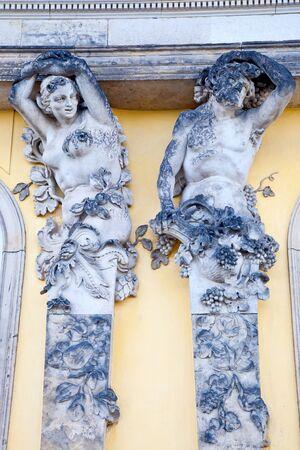 bacchus: Bacchus and Caryatid