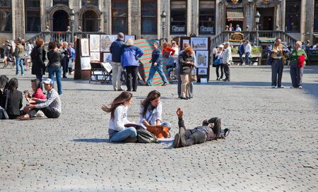 sightseers: On the streets of Brussels Editorial