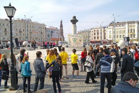 soloist: Kazan students look soloist performance of contemporary dance Editorial