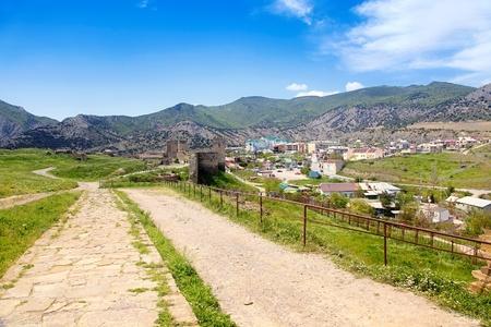 sudak: Genoese fortress and city Sudak