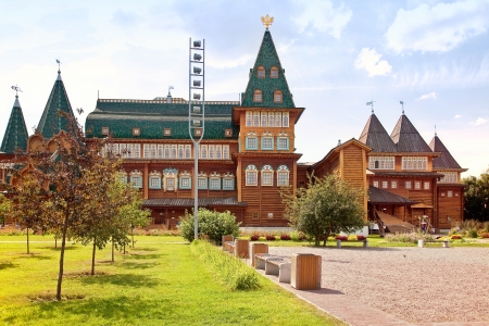 Palace of tsar of Aleksey Mikhailovich Romanov Stock Photo - 21520677