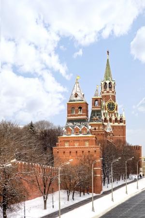 spasskaya: Towers of Moscow Kremlin