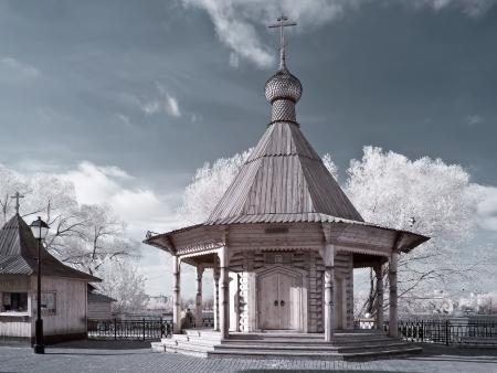 selectivity: Chapel in Kosino  Stock Photo