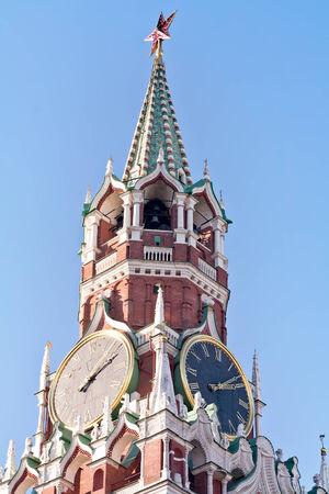 spasskaya: Kremlin Clock of the Spasskaya Tower