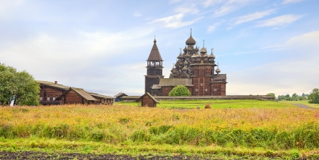 Kizhi. Ancient temple Stock Photo - 25039152
