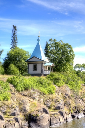 Chapel on an Valaam Island photo
