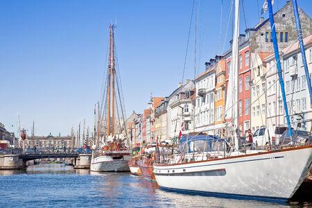 Channels are in city Copenhagen photo