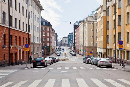 City Helsinki Cityscape Stock Photo
