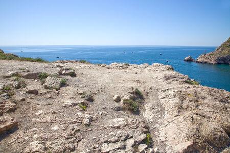 observational: Costa del Mar Negro, la entrada del mar en la bah�a de Balaklava