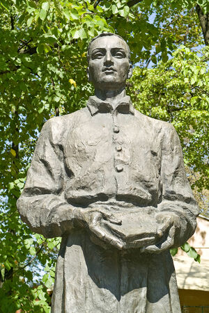 eminent: Hryhorii Skovoroda Monument in Kharkiv city