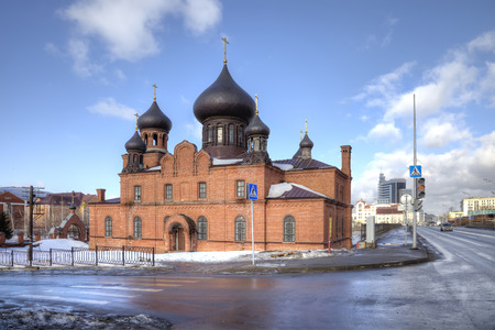 consent: The meetinghouse of old believers of Belokrinitskogo consent is built in the middle of 1880th. From prohibition was not sanctified