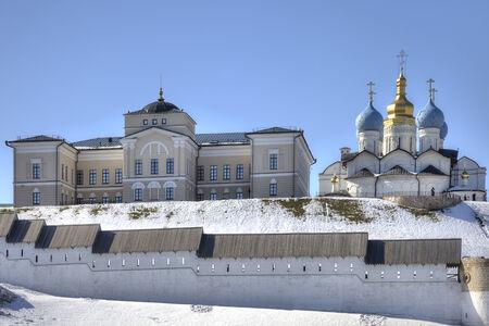 kazan: Kremlin is in city Kazan Stock Photo