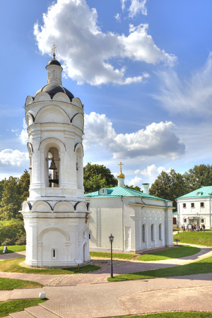 MOSCOW, RUSSIA - August 18.2013: Converted restored Church of St. George in the State Historical, Architectural and Natural Landscape Museum-Reserve