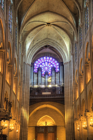 inwardly: Ancient musical instrument in Notre Dame