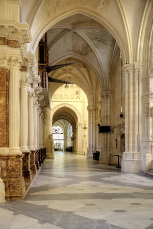 Cathedral in the city of Burgos was founded in 1221. The main Catholic church of Castile