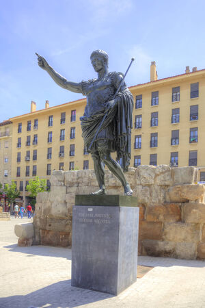 founder: Caesar Augustus, founder of the Roman colony on the site of the future city of Saragossa