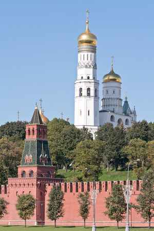 ivan: Nameless Tower and Ivan the Great Bell Tower of Moscow Kremlin