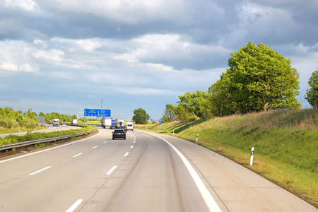 autobahn: Highways in the center of Europe Editorial