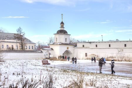 RUSSIA, ROSTOV - January 03.2015: Eldest city of Russia. Included in the Gold Ring of Russia. Kremlin is in city Rostov