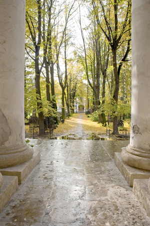 lavra: Cemetery on the territory of the Alexander Nevsky Lavra Editorial